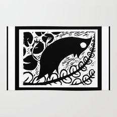Doodlebird Print Rug
