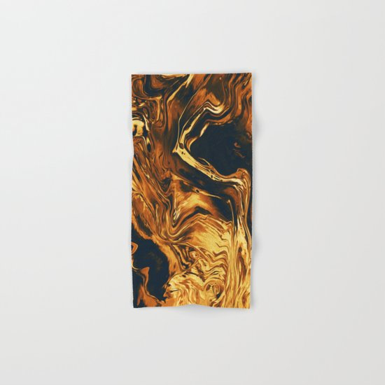 Gold Hand & Bath Towel