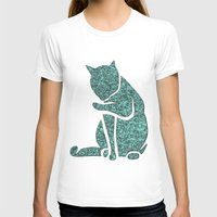 sassy T-shirts featuring Sassy Cat by Rudi Rodebush
