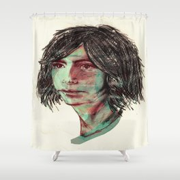 Fever dreams. Shower Curtain
