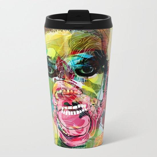 The human beast Metal Travel Mug