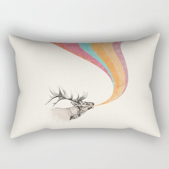 Elk Song Rectangular Pillow
