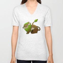 Maned Rabbit Unisex V-Neck