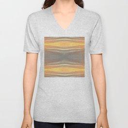 Abstract Sky Print Unisex V-Neck