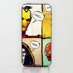 Masks: Iron Man, Deadpool, Dr. Doom, Spider Man iPhone & iPod Skin