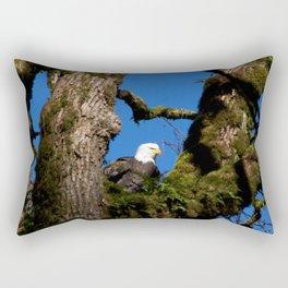 Perching Eagle2 Rectangular Pillow