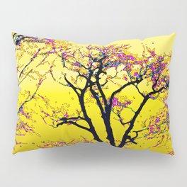 514 - Abstract Tree Sunset Design Pillow Sham