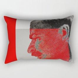 Vladimir Ilyich Ulyanov alias Lenin poster Rectangular Pillow