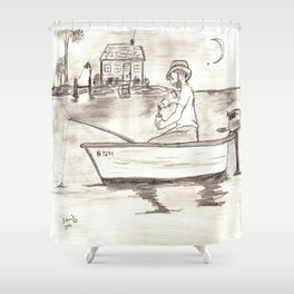 Gone Fishin' 2 Shower Curtain