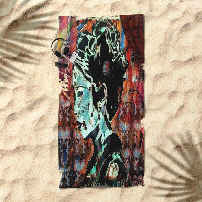 Izanami-no-Mikoto: She Who Invites Beach Towel