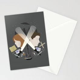 The Light in Dark Places Stationery Cards