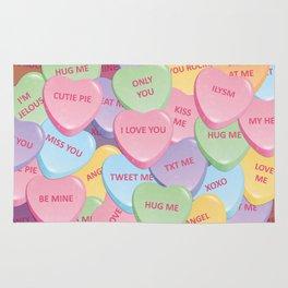 Valentine's candies Rug