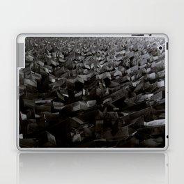 Black Steel Laptop & iPad Skin