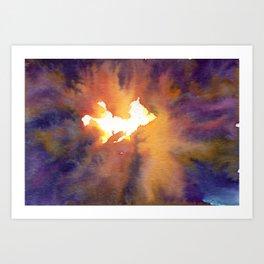 Power Source Art Print