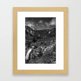 Wallowa Mountains, Northeast Oregon Framed Art Print