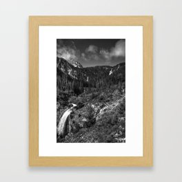 Wallowa Mountains, Northeast Oregon Framed Art Print