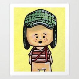 El Chavo Del Ocho Art Print