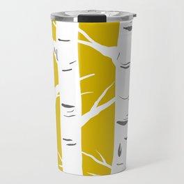 Mustard Birches Travel Mug