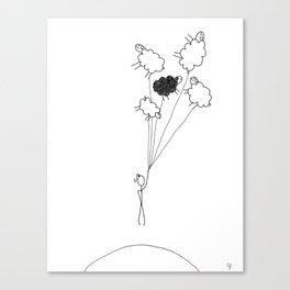 CloudSheeps III Canvas Print