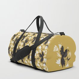 Birds & Bugs in Yellow Duffle Bag