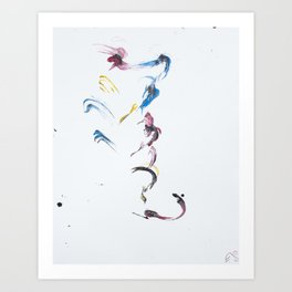 Without Wings Art Print