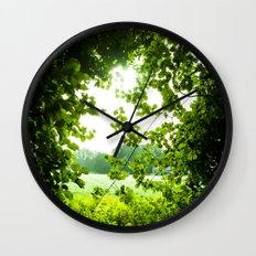 She Made Her Own Path Wall Clock