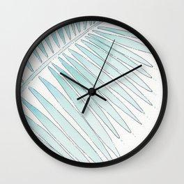 Tropical Fringe Wall Clock