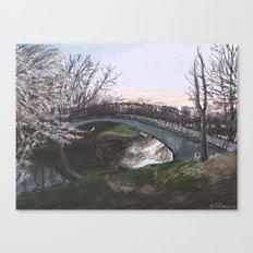 Charles River Esplanade 4 Canvas Print