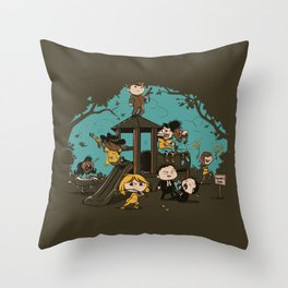 Quentin's Square Throw Pillow