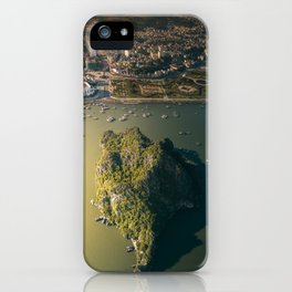 Last light of Ha Long Bay, Vietnam. iPhone Case