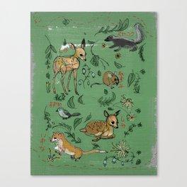 Mori no Tomo Canvas Print