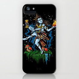 Lord Shiva Dancing Nataraja Hindu God iPhone Case