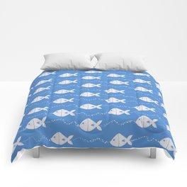 Happy Fishes Comforters