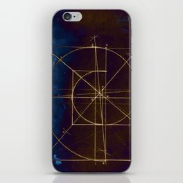 Volute Geometric Construction iPhone Skin