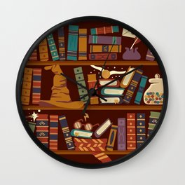 Hogwarts Things Wall Clock