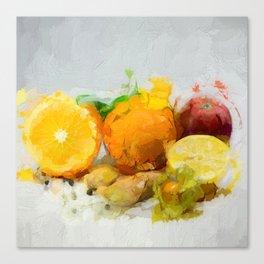 Vitamins 2018 Canvas Print