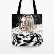 I'm not like them, but i can pretend. -  Kurt c Tote Bag