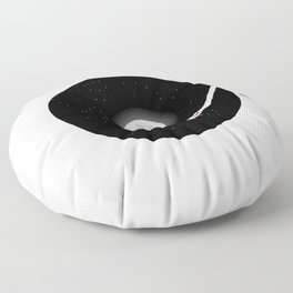 The Music of the Moon and the Stars Floor Pillow