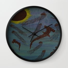 Hammahs & Jellies Wall Clock