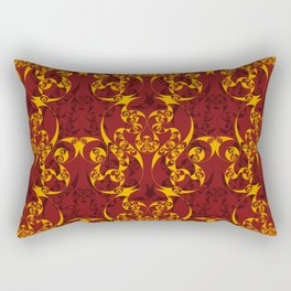 Celtic Loop Pattern Rectangular Pillow