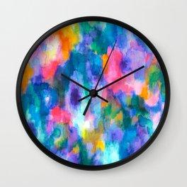 Paradise (Blue) Wall Clock