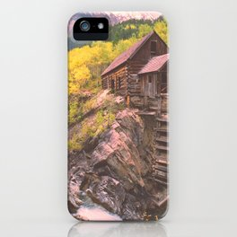 Crystal River Mill near Marble, a Colorado Icon iPhone Case