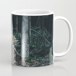 Fallen And Broken Trees After Storm Victoria February 2020 Möhne Forest 7 dark Coffee Mug