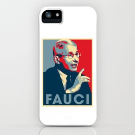 Doctor Anthony Fauci Hope and Truth iPhone Case