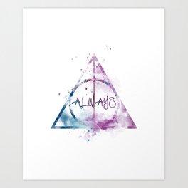 Always Art Print