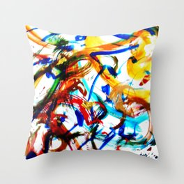 PLEYEL:  Clarinet Concerto No 1.    by Kay Lipton Throw Pillow