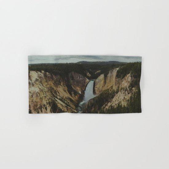 Yellowstone National Park Falls Hand & Bath Towel