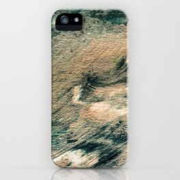 Festive Season 4     #holidays #Christmas #painting #gold #abstract iPhone Case