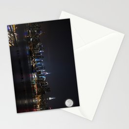 New York Supermoon Stationery Cards