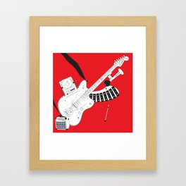 One-Man Band Framed Art Print
